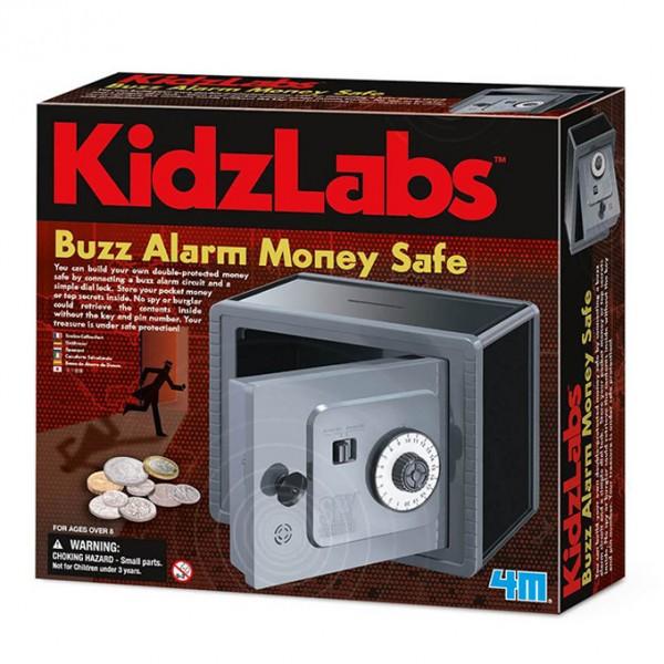 4M - Kidz Labs - Buzz Alarm Money Safe
