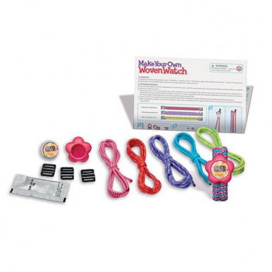 4M - Make Your Own Woven Watch for Girls