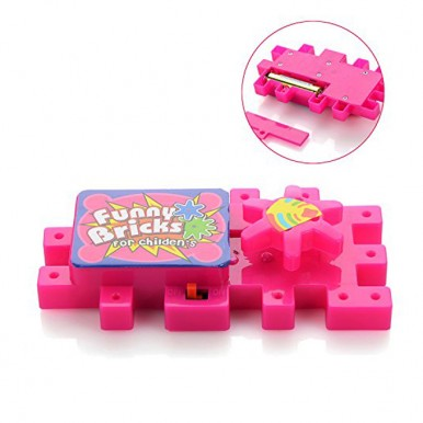 Funny Educational Blocks with Gears and Interlocking Puzzles - 81 Pieces