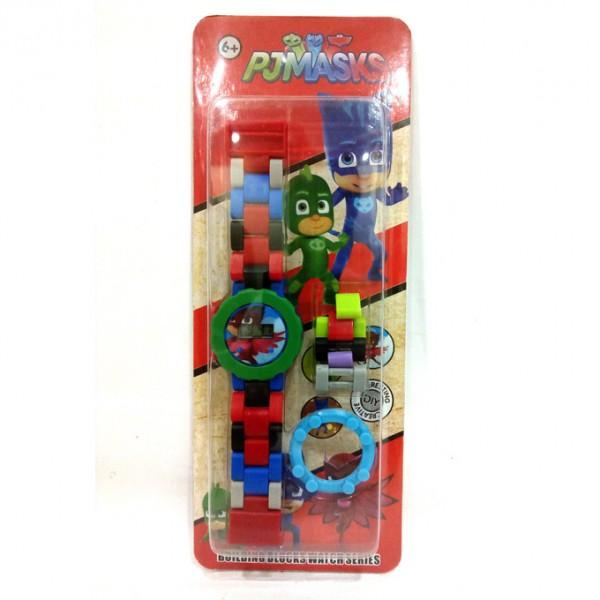 PJMASKS Red Owlette Power Digital Plastic Watch for Kids- Adjustable