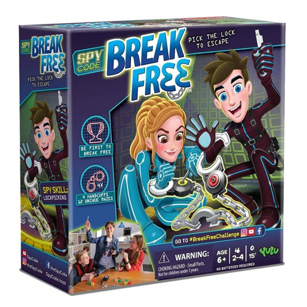 Break Free - Lock Picking Spy Game with Handcuffs