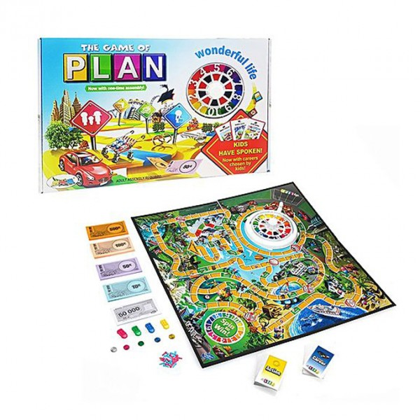 The Game of Plan - Life Journey Board Game