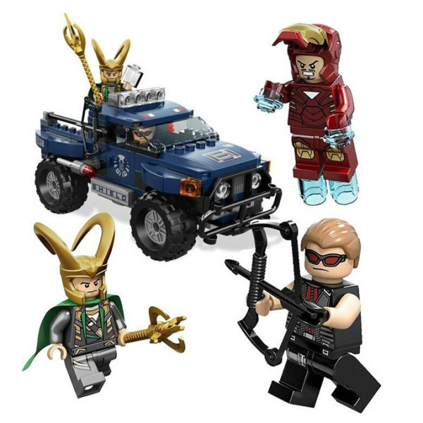 Avengers Lokis Cosmic Cube Escape Building Blocks - 7101
