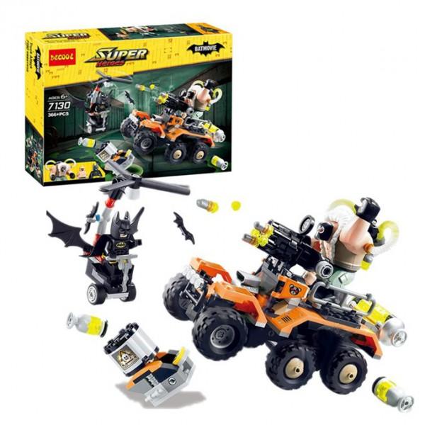 Batman vs Bane Toxic Truck Attack Building Blocks - 7130