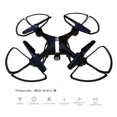 2.4 Ghz - 6 Axis Gyro - Live Wifi Camera Quadcopter Drone