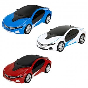 Remote Control BMW 3D Famous Car with Led Lights for kids - Battery Operated