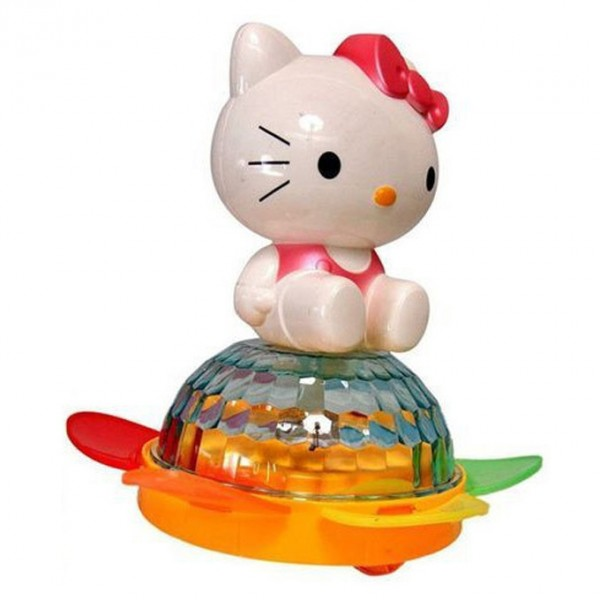 Hello Kitty Cat Bump and Go Spin Toy with Lights and Sound