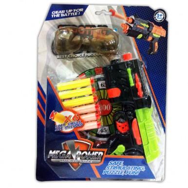 Mega Power Police Force Soft Bullet Dart Gun