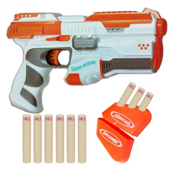 Space Fighter Super Weapon Soft Bullet Nerf Dart Gun