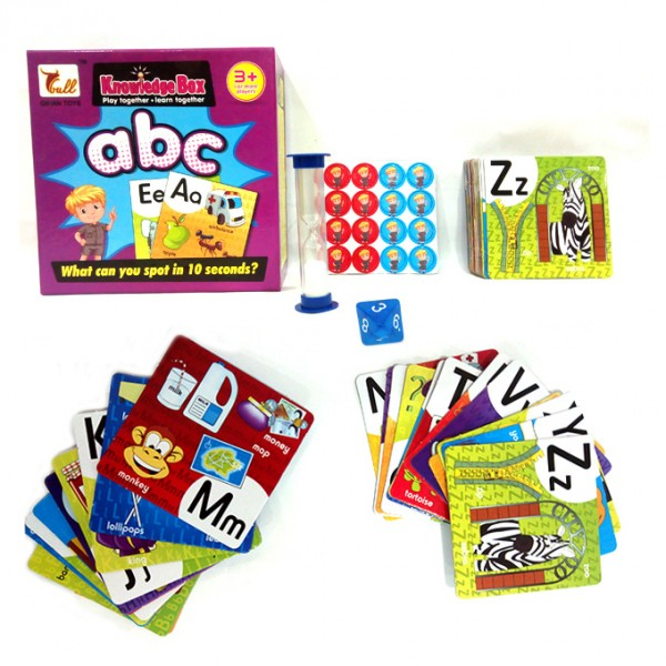 ABC Knowledge Box - Educational Learning Cards Game