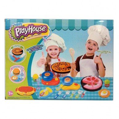 Happy Household Lounge & Kitchen Play Set