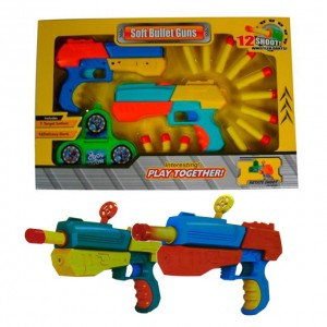 Future Kids - Soft Bullet Guns - 2 pcs set
