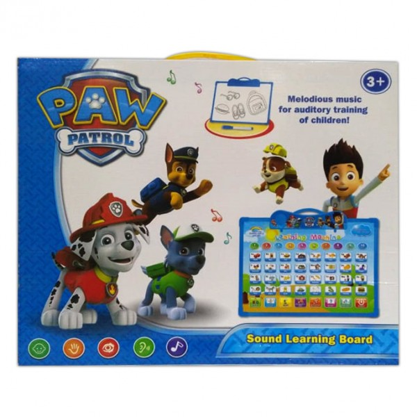 Paw Patrol Interactive English Learning Musical Board - 14 inch