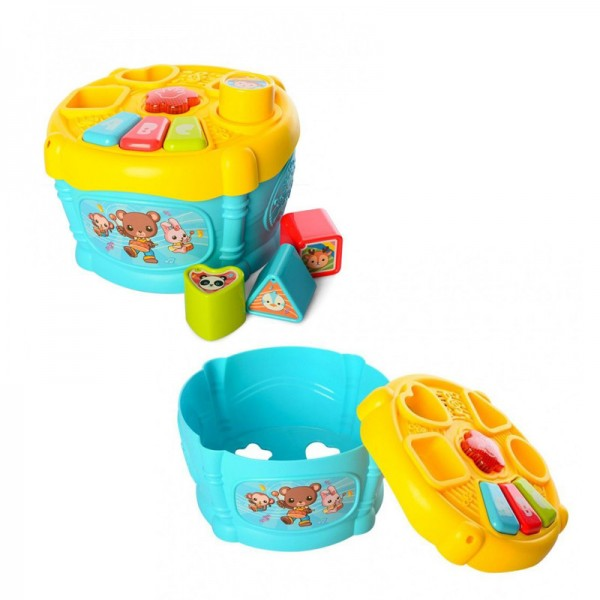 Early Education Music Drum & Shapes Sorter