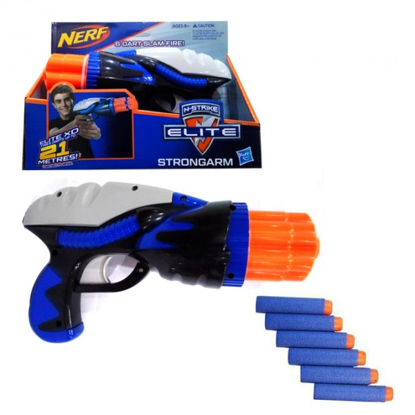 Nerf N-Strike Elite Strongarm 6-Dart Slam Fire