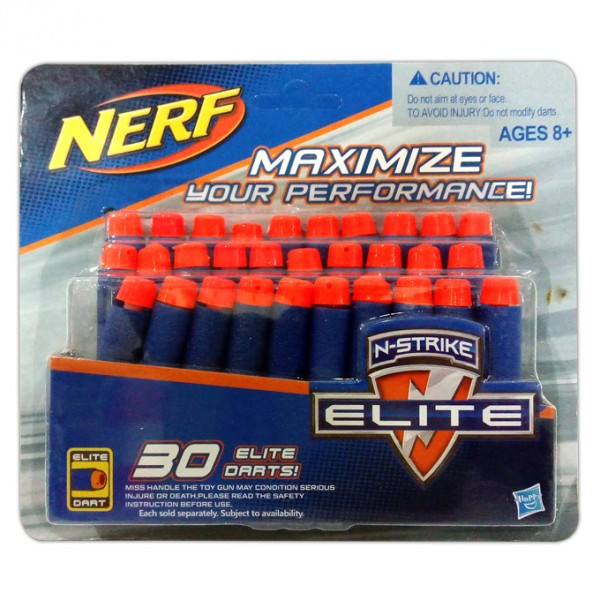 Nerf N-Strike Elite 30 Soft Bullet Darts Refill Pack