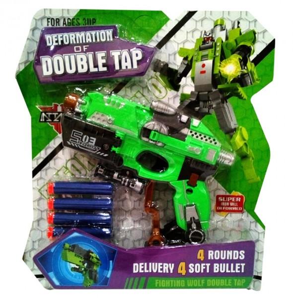 Green Transformer dart gun