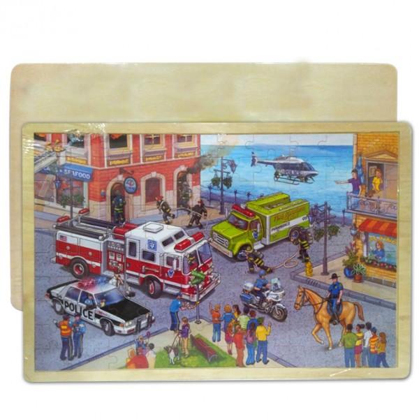 Educational FunBig City Rescue Puzzle