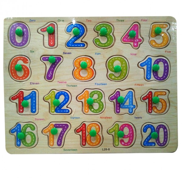 Number Line Educational Puzzle