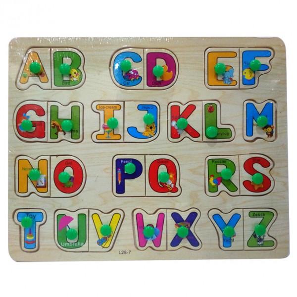 ABC Puzzle Dual Alphabets