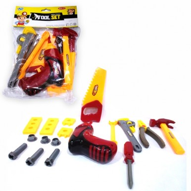 Tool set with Drill Bag