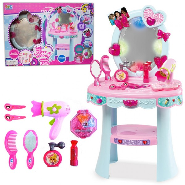 Magic Pink - Light & Melody Dressing Table with Accessories