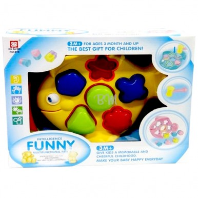 SHAPES TOY FOR BABIES - FISH