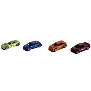 DINKY TOY RACING CAR 4 PCS SET