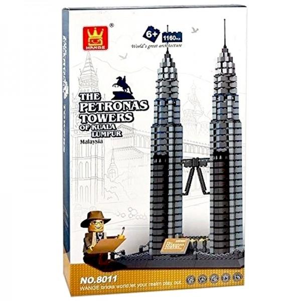 TWIN TOWER - BUILDING BLOCKS