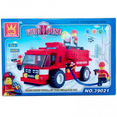 Fire Fighting Truck Lego