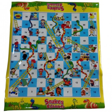 SNAKES N LADDERS PLASTIC MAT FOR KIDS
