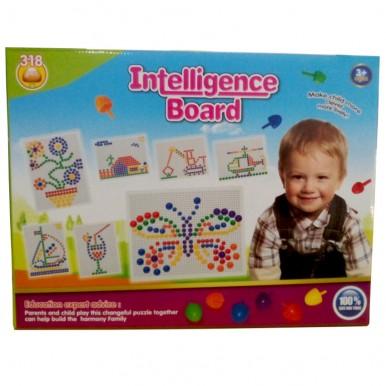 INTELLIGENCE PIN BOARD for KIDS LEARNING