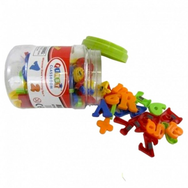 MAGNETIC ALPHABET JAR FOR KIDS LEARNING