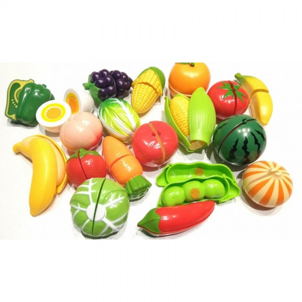VEGETABLE CUTTING PLASTIC FOR KIDS PLAY