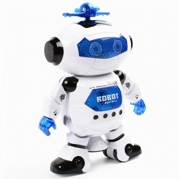 Naughty Dancing Robot - White