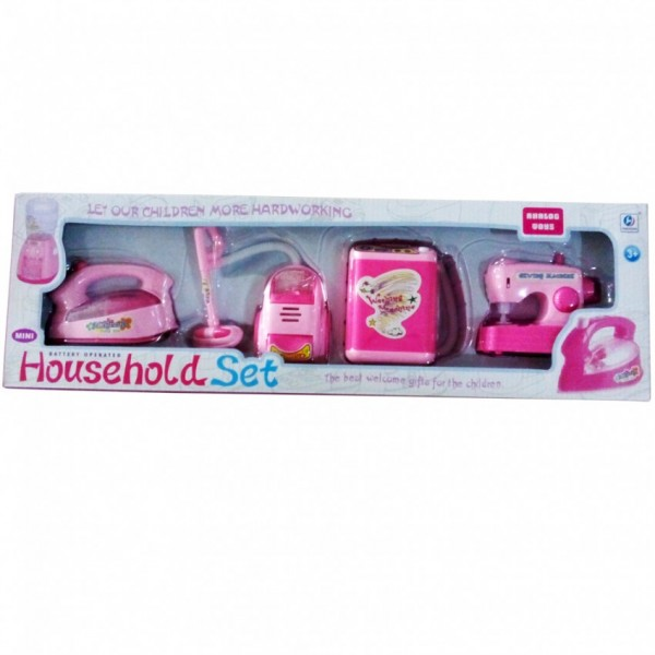 Household Cleaning Play Set