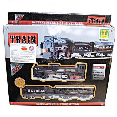 TRAIN TOY FOR KIDS - BATTERY OPERATED