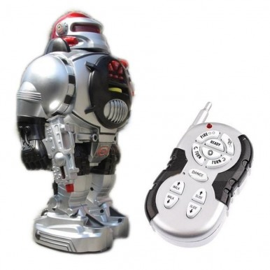 SPACE FIGHTER ROBOT FOR KIDS - RC