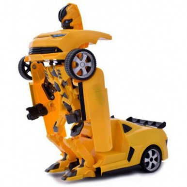 RC TRANSFORMER - CHEVROLET Toy Car for KIDS - BUMBLEBEE