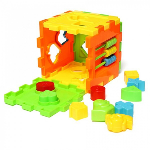 EDUCATIONAL DISCOVERY CUBE for KIDS