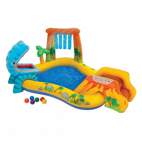 INTEX - DINOSAUR PLAY CENTER - Kids Pool for Parties and Games