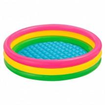 Intex - 3 Ring Sunset Glow Baby Pool - 57412