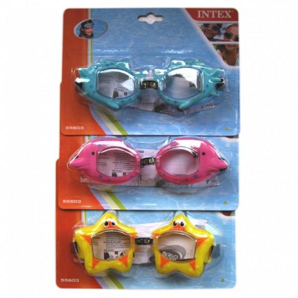 Intex - Cartoon Animal Kids Goggles - 55603