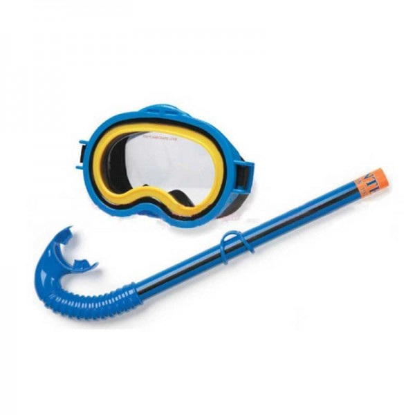 INTEX - ADVENTURER SNORKEL & MASK SWIM SET BLUE