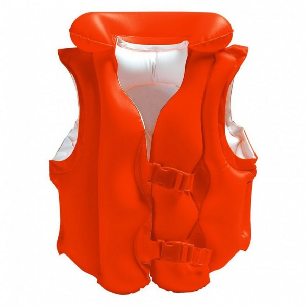 Intex - Red Deluxe Swim Vest For Kids - 58671
