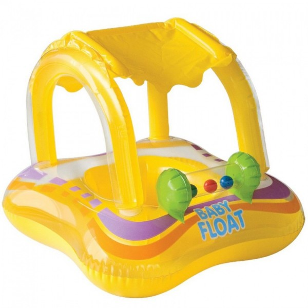 Intex - Yellow - Baby Float - 56581