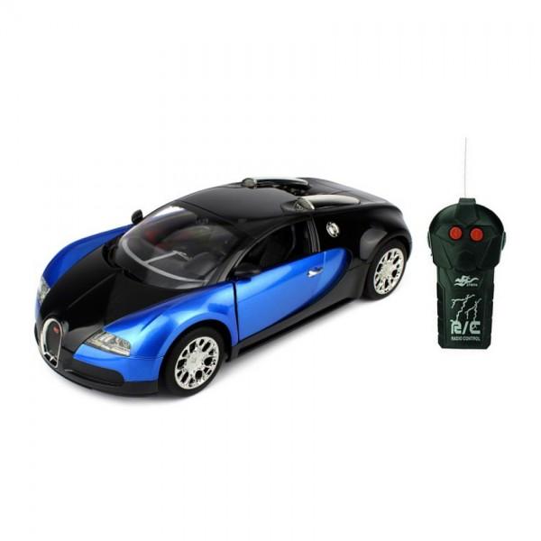 Blue Color Remote Control BUGGATI Toy Car