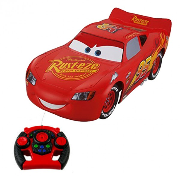 Remote Control Lightning McQueen Toy Car for Kids - BIG SIZE