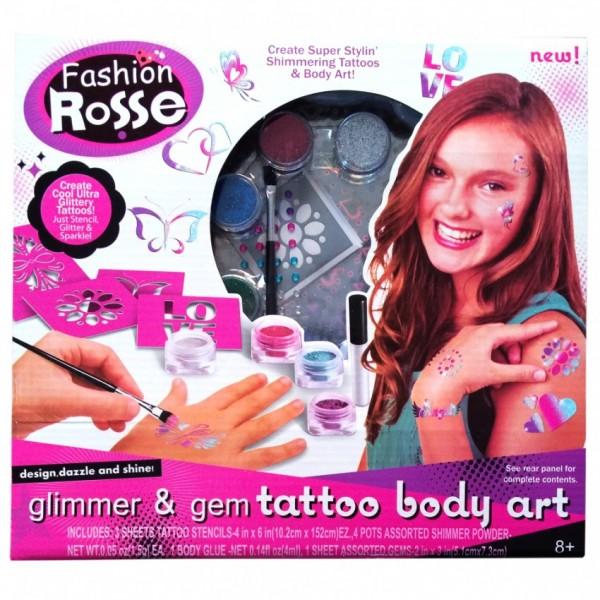 Glitter Tattoo Body Art