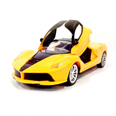 RC Ferrari La-Ferrari Door Opening Function - Yellow